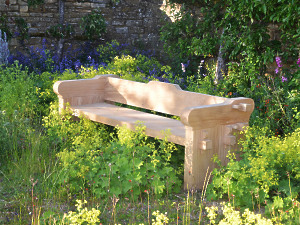 The Quercus Robur Garden Seat