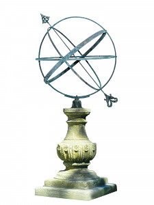 The William IV Sundial Pedestal with Holborn Armillary Sphere