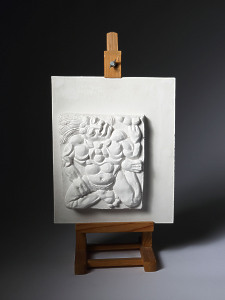 Untitled Relief Plaque (Aztec Warrior) Sir Eduardo Paolozzi CBE 1924 – 2005