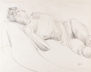 'Reclining Nude' Sir Jacob Epstein KBE 1880 – 1959