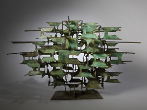 'Untitled (Tiered Form III)' Anthea Alley 1927 - 1993