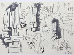 'Ideas for Sculpture – Phoenix' David Backhouse b.1941