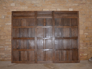 A single 18th century oak panel