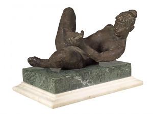 Reclining Nude by Uli Nimptsch (1897-1977)