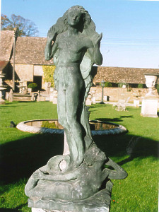 A Bronze Figure of a Male