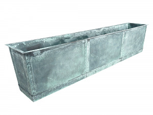 The Rectangular Copper Planter - Modular