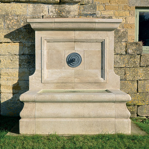 The Onslow Park Wall Fountain with Lead Spout