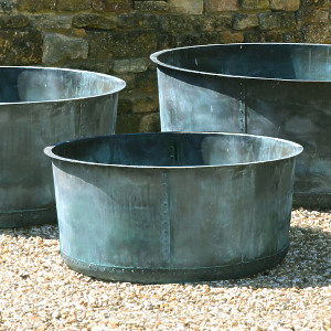 The Courtyard Copper Planter - Small