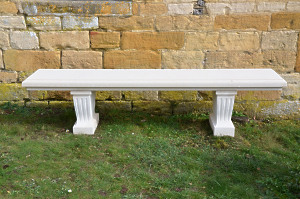 The Classic Straight Stone Bench - Large