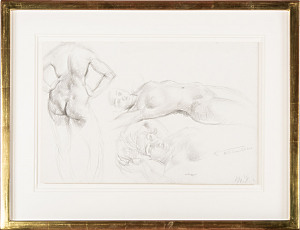 'Nude Figure Studies' Leon Underwood 1888-1963