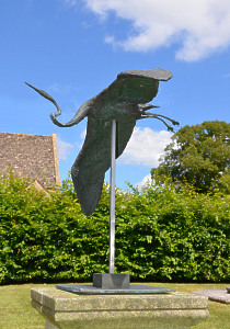 Soaring Bird by David Wynne (1926 – 2014)