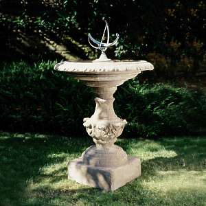 The Bird Bath with Equatorial Sundial