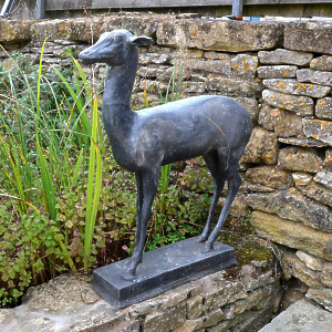An early 20th century lead Pompeian Deer