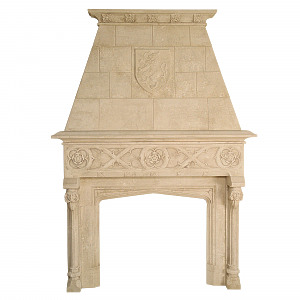 The Great Sir Hugh's Court Rusticated Chimneypiece