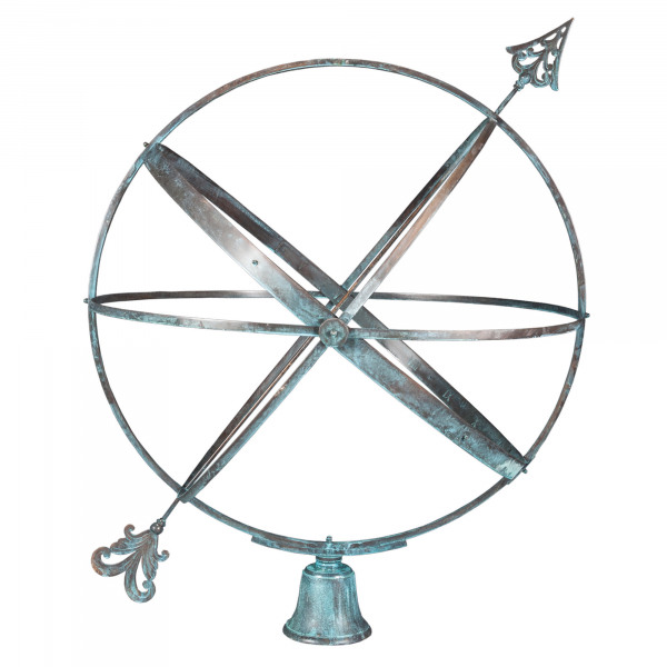 The Inverted Sundial Pedestal with Holborn Armillary Sphere