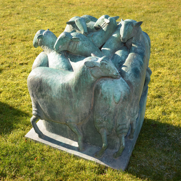 'Green Sheep' Geraldine Knight FRBS 1933-2008