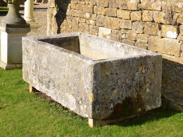 An 18th century stone trough