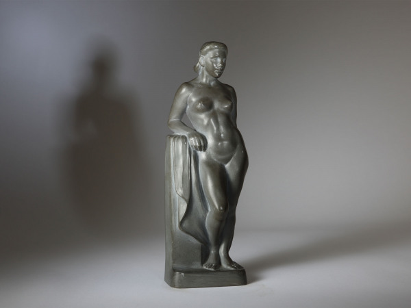 'Standing Nude (Bather)' Herbert Palliser 1883 – 1963