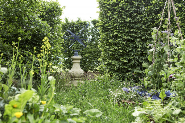 The William IV Sundial Pedestal with Greenwich Armillary Sphere