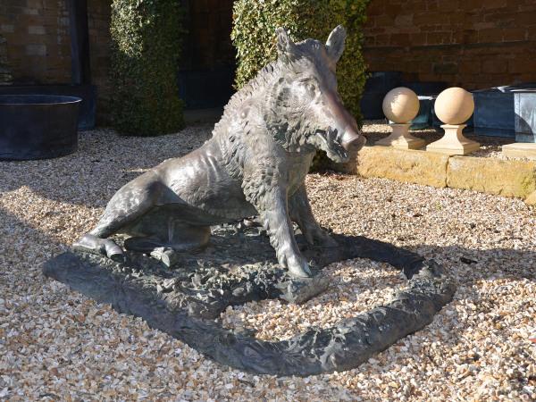 The Florentine Wild Boar cast by Ferdinando Marinelli Firenze