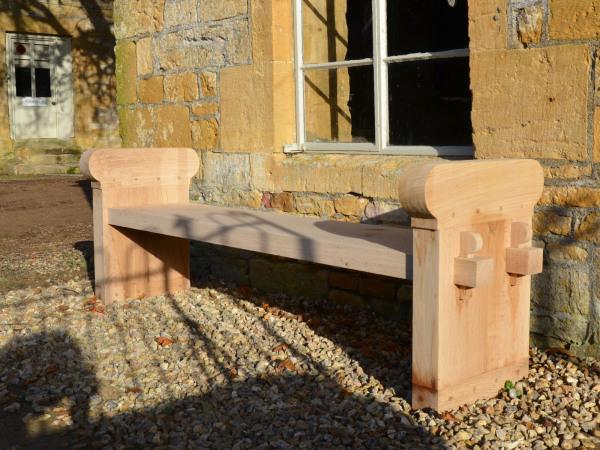 The Quercus Robur Garden Bench