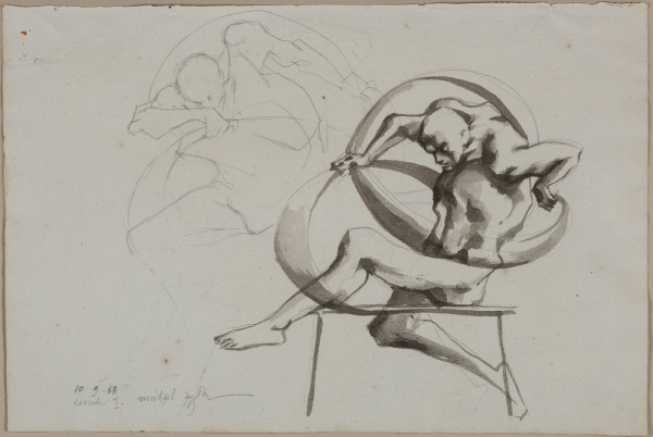 'Study for Laocoon 1' Michael Ayrton 1921 – 1975
