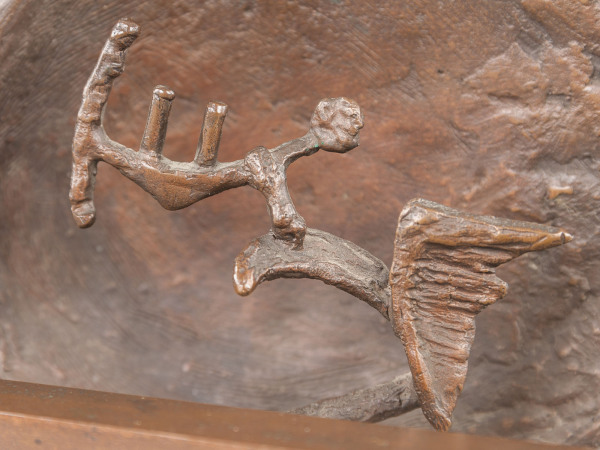 Untitled (Icarus Falling) by Michael Gillespie 1929 - 2012