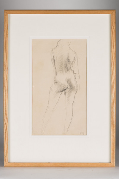 'Standing Nude' (back View) Ralph Brown 1928 - 2013