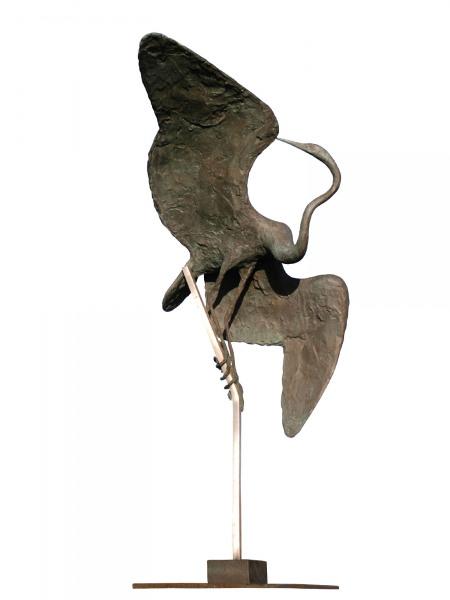 Preening Bird by David Wynne (1926 - 2014)