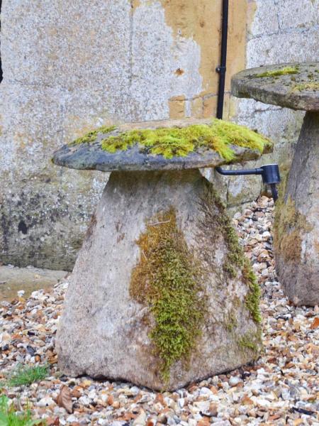 A Ham stone staddlestone