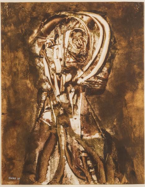 Untitled (Head Study) Bryan Kneale b.1930