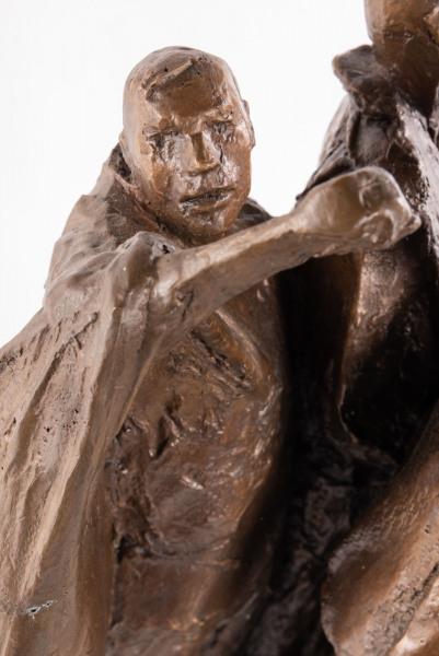 'Study for the International Brigade Memorial' David Backhouse b.1941
