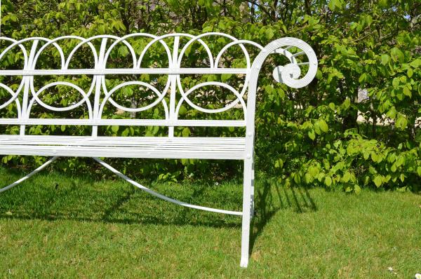 A Regency scroll seat
