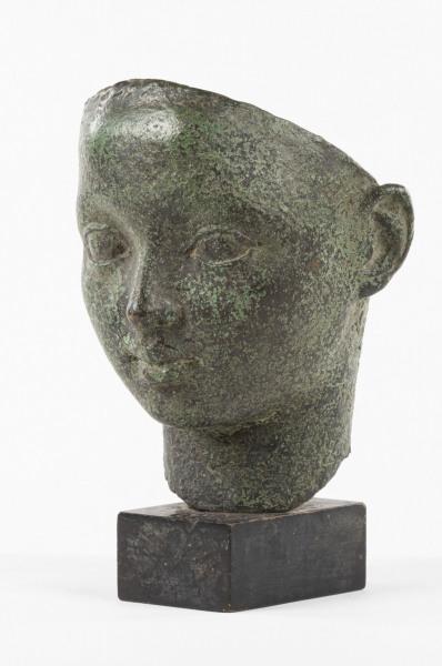 'Mask of a Greek Boy' Dora Gordine 1895 - 1991