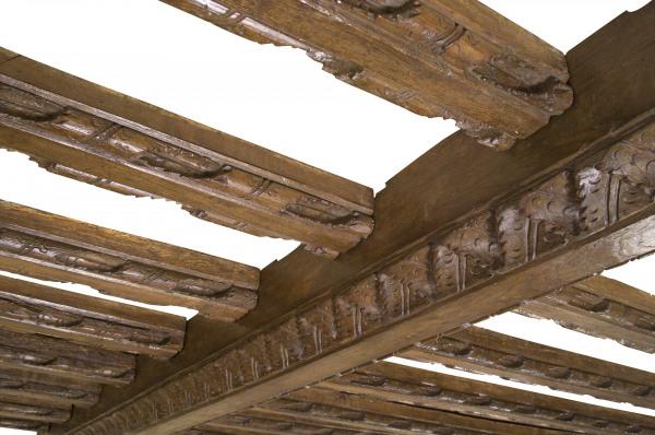 The De Vere House Oak Ceiling