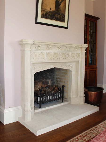 The Palace of Westminster Chimneypiece