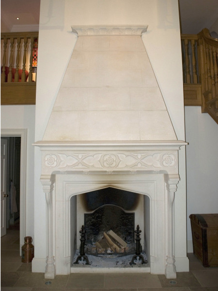 The Great Sir Hugh's Court Chimneypiece