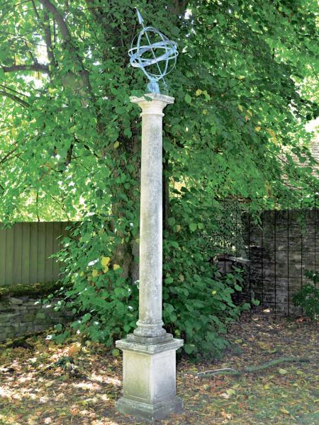 The Portmeirion Column with Zenith Armillary Sphere