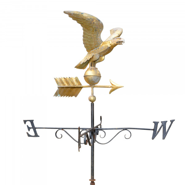 A mid 20th century American weathervane, probably by Fiske of New York