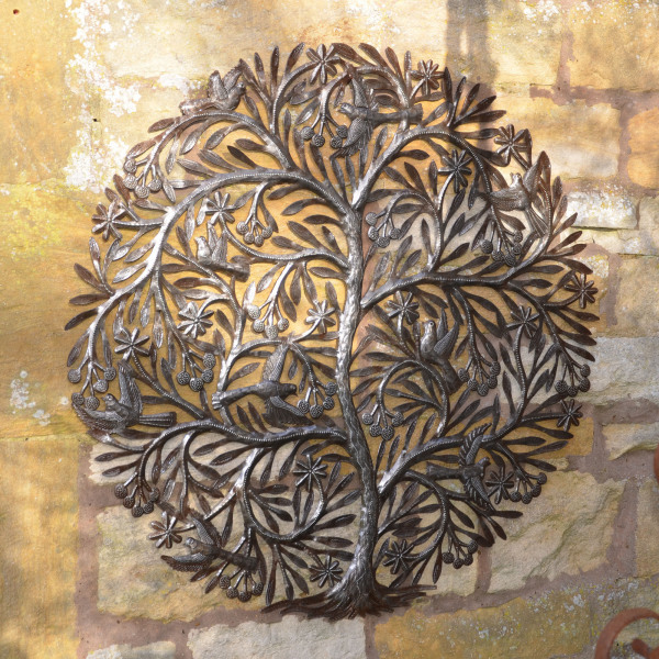The Tree of Life Decorative Metal Wall Panel