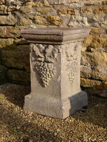 A Compton Pottery plinth