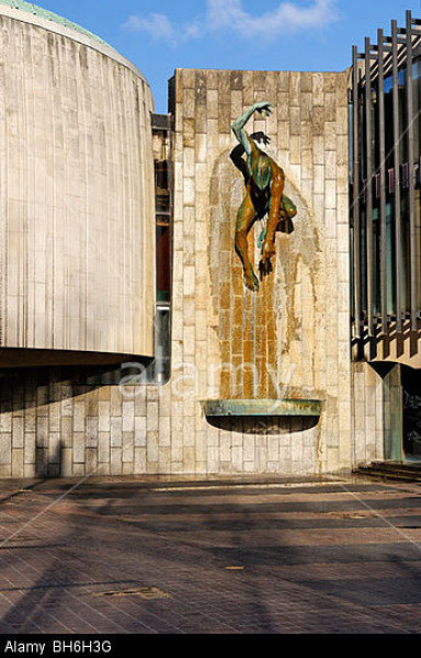 The 'Tyne God Fountain' by David Wynne (1926-2014)