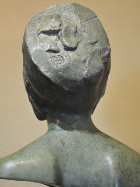 A patinated bronze sculpture by Ralph Brown R.A. (1928 – 2013)